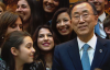 U.N. Secretary-General Ban Ki-moon visits UNRIC at the IPC